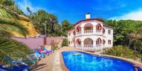 Wohnung in Ferienvilla mit Pool, Lloret de Mar,  Vorort Serra Brava. Zu mieten für 6 Personen