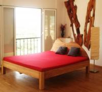 Unsere größte Ferienwohnung Aphrodite besticht durch außergewöhnliche Gestaltung mit hellen Räumen.