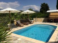 Ferienhaus mit Privatpool zwischen St. Tropez und Cannes mit herrlichem Blick auf das Esterelgebirge