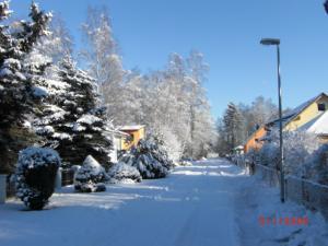 So schön ist Mahlow im Winter