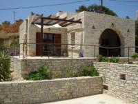 Das Haus mit sonnigen Terrassen,einem Schlafzimmer,Wohnzimmer,Küche bietet Platz für 2 Personen