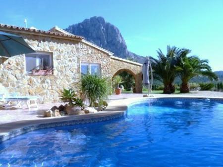 Ferienhaus in Finestrat / Alicante