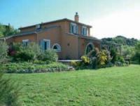 Ferienhaus mit Pool in Camplong, Languedoc-Roussillon, mit wunderbarem Ausblick über die Minervois.
