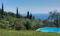 Rustico mit herrlichem Blick auf den Gardasee - Ferienhaus in Toscolano-Maderno zu vermieten