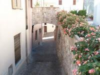 Ferienhaus auf 2 Ebenen mit Galerie und Garten, mitten in Vesio, dennoch ruhig, altes ren. Dorfhaus