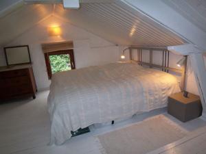 Schlafzimmer unter dem Dach