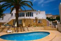 Ferienhaus in Moraira mit Pool und sonniger Terrasse, 2 Schlafzimmer, bietet Platz für 4 Personen!