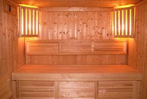 tolle Sauna