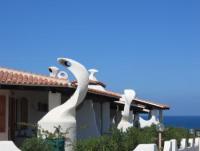 Komfortable Ferienhäuser Sa Fiorida bieten 3 Betten, Meerblick und Sat-TV