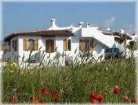 Die komfortablen Ferienhäuser Sa Fiorida bieten 4 Betten, Meerblick, Sat-TV und Waschmaschine