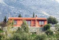 Das kleine Ferienhaus auf Kreta am Berghang oberhalb von Plakias bietet Platz für bis zu 3 Personen