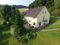 Sauerland-Loft - Ferienhaus in Werdohl im Lennetal - NRW mit Sauna, Kaminofen, Lagerfeuer, Billard