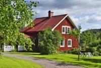 Idyllisches Schwedenhaus mit herrlichem See-Blick und grossz�gem Wohngef�hl