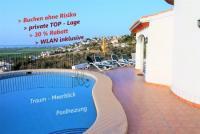 MEERBLICK - Sonnen-Villa mit privatem, BEHEIZBAREM POOL in EXKLUSIVER LAGE - Wäsche + WLAN inklusive