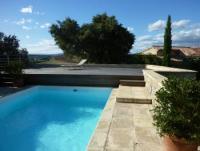 Ferienhaus mit vielen Terrassen und 3 Schlafzimmern für 6 Personen bei Uzès, Languedoc-Roussillon
