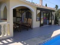 Mediterranes Ferienhaus mit privatem Pool in Orba,bei Denia an der Costa Blanca.