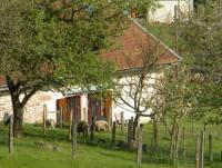 Vogesen-: Stilecht renovierter Bauernhof mit großem Wiesengrundstück in Südhangaussichtslage