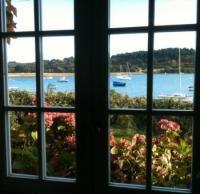 Bretagne: Ferienhaus Ty Losket mit Meerblick in Plouezoch, Finistere, Frankreich privat zu vermieten