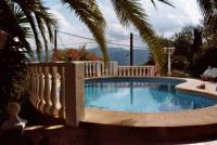 Casa Mozart Ferienhaus bei Denia, Costa Blanca in Sanet y Negrals, mit Pool und romantischem Garten
