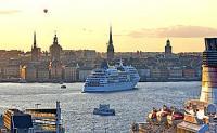 Studio mit spektakul�rem Meerblick im Zentrum von Stockholm. Ferienwohnung in Stockholm-City