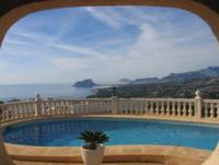 Einmaliger Blick und traumhafte Ruhe - Villa f�r 6 Personen mit Pool in Benitachell/ Costa Blanca