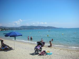Perfect sand beach