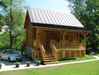 For rent: Beautiful holiday homes - log cabins, fully equipped, guarantieed enjoyment!