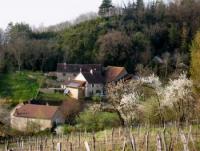 Stilvoll renoviertes Ferienhaus in Passenans im Jura / Franche-Comté bis 7 Personen, 3 Schlafzimmer