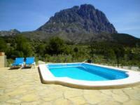 Ferienhaus auf der Finca Els Castellets mit privatem Pool für 4 Personen