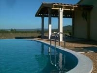Ferienhaus Bellvue mit Pool und überwältigendem Panaoramablick auf die Cevennen in Uzes / Gard
