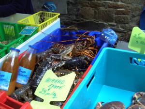 on Paimpol market
