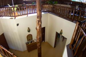 A look of the entrance area from the upper floor