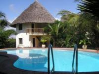 Guesthouse with Chalets at Diani Beach in Kenya