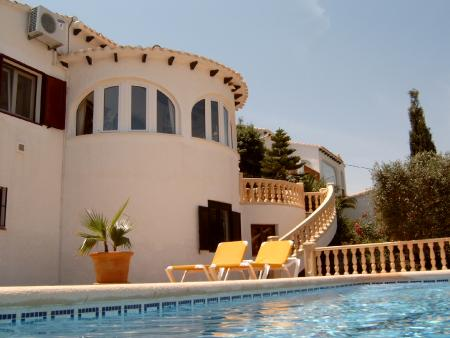 Ferienhaus in Orba bei Denia