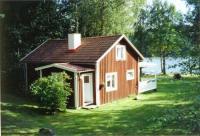 Ferienhaus in Nybro, Südschweden für 5 Personen mitten im Wald unmittelbar am See Mädesjösjön