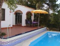 Ferienhaus mit eigenem Pool, Garten und Meerblick bei Lloret de Mar an der Costa Brava