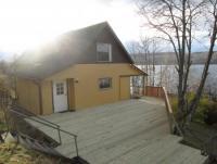 Ferienhaus in Bergslagen, Västmanland,  allein und direkt am großem See gelegen mit Faßsauna, Boot