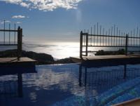 Ferienhaus mit Pool  bei Lloret de Mar, Urb. Serra Brava.Das Haus liegt in einer ruhigen Sackgasse,