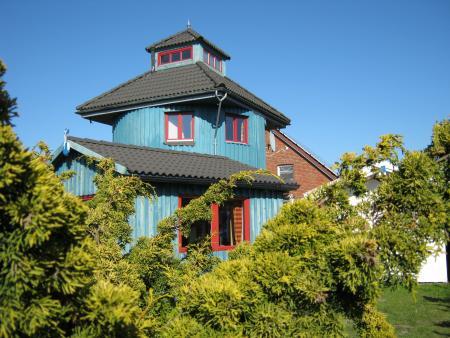 Ferienhaus leuchtturm nahe nordsee mit sauna whirlpool und solarium for Ferienunterkunft nordsee