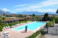 Lake garda: Apartment 'Monica', two bedrooms and big balcony, private garden, for max 5 people