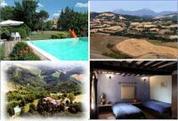 Ferienhaus in Ca Piero mit Pool und Panoramablick zw. Toskana u. Adriaküste in Italien zu vermieten!
