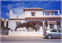 Ferienhaus in Torrevieja mit herrlichem Blick von der Sonnenterrasse auf das Meer bei La Mata
