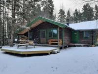 Das Ferienhaus bietet Platz für fünf Personen: 3 Schlafzimmer, Küche, Bad und gr. Aufenthaltsraum