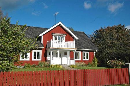 Ferienhaus in Ryd