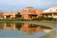 Ferienhaus mit 55 m² Wohn- und Nutzfläche, in einer Anlage mit Pool, in der 1.Reihe der Sonnenlagune