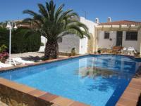 Top - Ferienhaus Casa Fosinos mit eigenem Pool u. mediterranem großen Garten in Riomar zu vermieten