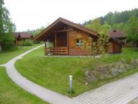 Winterfestes Tiroler Blockhaus mit einer Wohnfläche von 55 m², geeignet für max. 5 Personen.