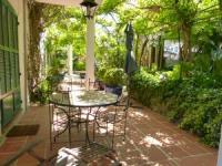Ferienhaus mit  Appartements - Ferienwohnung Mimosa (ca. 41 m² + 2x 15 m² Terrasse) für max. 4 Pers.