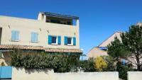 Ferienhaus mit Meerblick, Garten und überdachter Loggia in Saint Pierre la Mer Südfrankreich