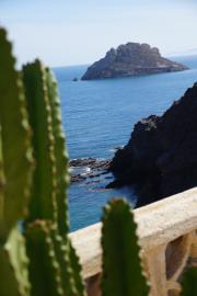 Blick auf die Isla del Fraile
